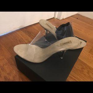 f4732eddccf Yeezy Shoes - Yeezy season 6 size 39 (81 2) pvc 90mm mules